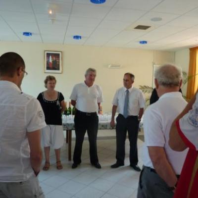 Réception mairie montée en DSR